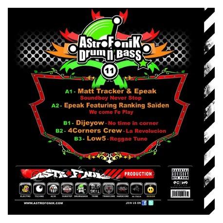 AstroFoniK Drum N Bass 11 (Printed Sleeve)