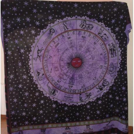 Backdrop Astrology Classic (200x210cm - Violet)