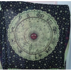Backdrop Astrology Classic (220x240cm - Green)