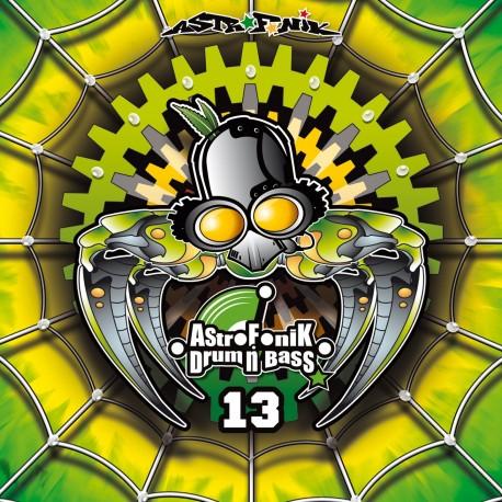 AstroFoniK Drum N Bass 13 (Printed Sleeve)