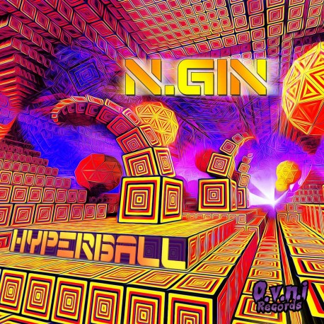 Hyperball by N.GIN (CD Maxi)