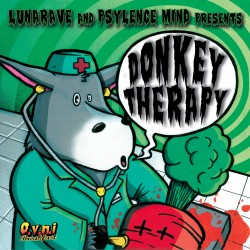 Donkey Therapy by LUNARAVE, PSYLENCE MIND (Digital EP)