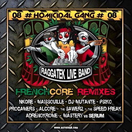 Omicida Gang 08 (RLB Frenchcore Remix - Album Digitale)