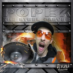 Synthetik Language by POPEK (CD Album Back)