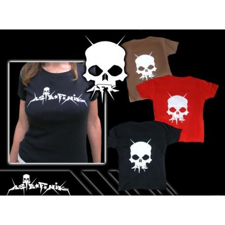 T-Shirt femme AFK SKULL
