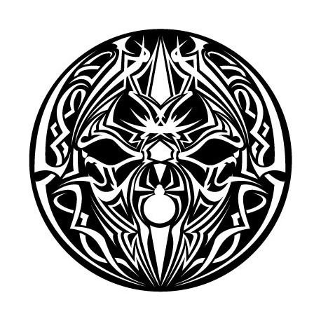 Feutrines Spider Tribal