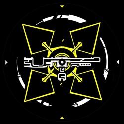 "Feutrine 12"" Logo UTF Sound System (Coloré)"