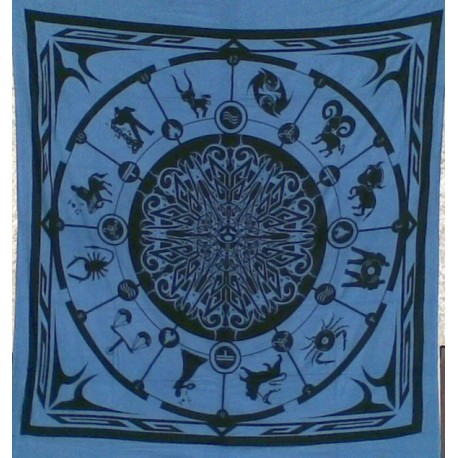 Backdrop Astrology Big (Bleu Uni)