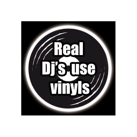 Badge 25mm Real Djs