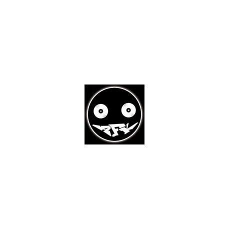 Badge 25mm AFK Smiley 02